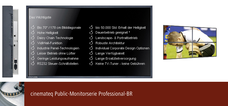 LCD Public Monitor BR-Serie